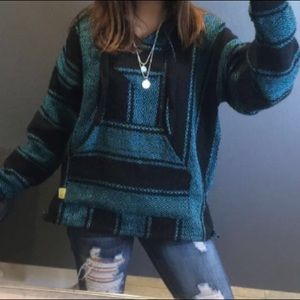 Sweaters - Mexico Pancho Sweater